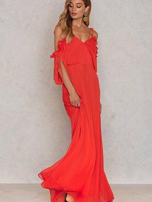 Trendyol Cold Shoulder Maxi Dress