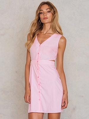 Trendyol Cut Out Button Dress