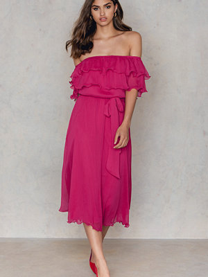 Trendyol Off Shoulder Frill Dress