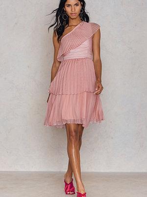True Decadence One Shoulder Frill Dress