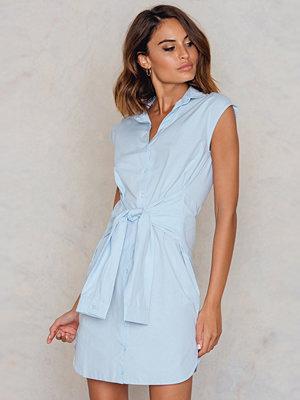 Trendyol Knot Front Shirt Dress