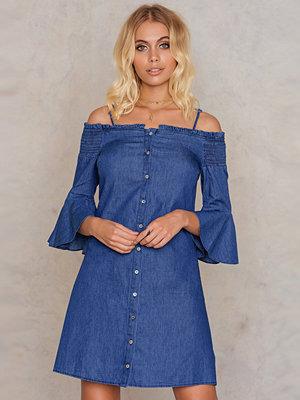 Trendyol Off Shoulder Denim Dress