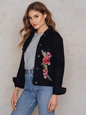 Trendyol Embroidered Denim Jacket