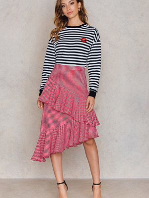 NA-KD Trend Double Layer Asymmetric Skirt