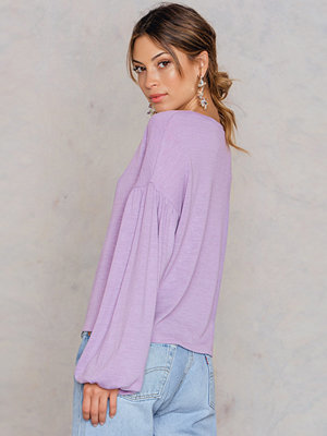 NA-KD Boho Balloon Sleeve Sweater - Vardag