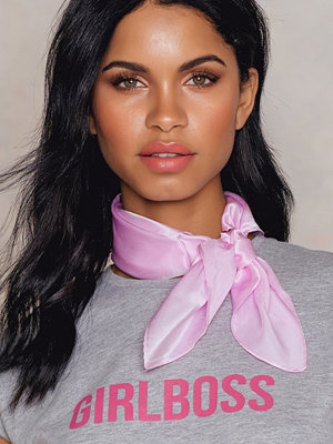 Halsdukar & scarves - NA-KD Exclusive Square Silk Scarf