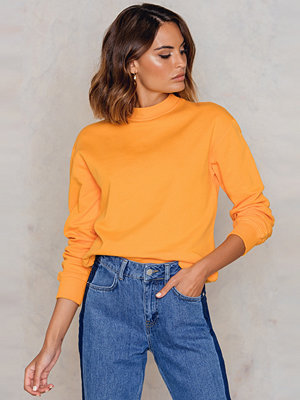 NA-KD Basic Basic Sweater orange