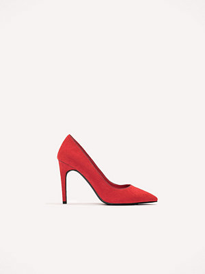 Pumps & klackskor - NA-KD Shoes Suede Mid Heel Pumps