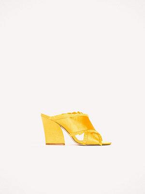 Pumps & klackskor - NA-KD Shoes Satin Cross Mule Heels