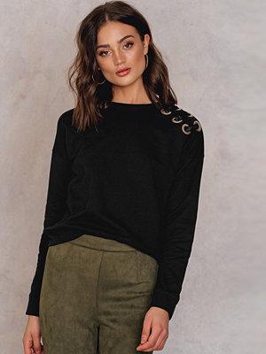 Therese Lindgren Malin Lacing Sweater svart