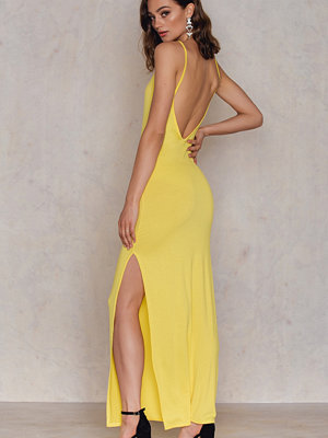 Boohoo Low Scoop Back Maxi Dress
