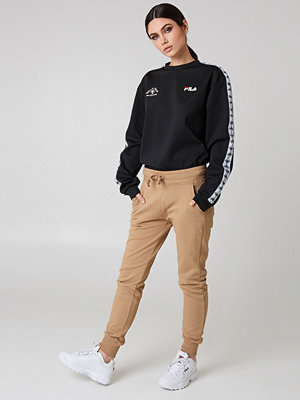 NA-KD Basic beige byxor Basic Sweatpants