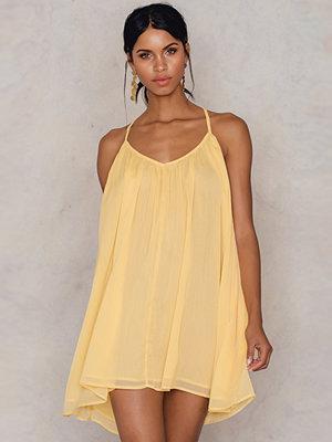 NA-KD Boho Thin Strap Chiffon Dress