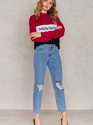 NA-KD Live Fast Jeans