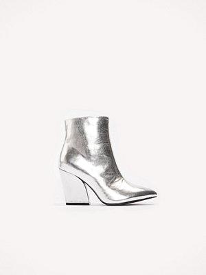 Pumps & klackskor - NA-KD Shoes Metallic Mid Heel Boots