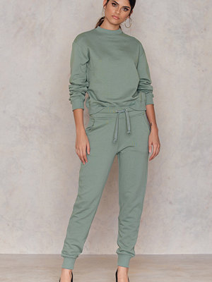 NA-KD Basic omönstrade byxor Basic Sweatpants