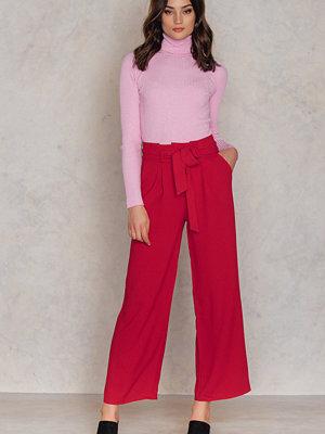 Trendyol röda byxor Bordo Pants