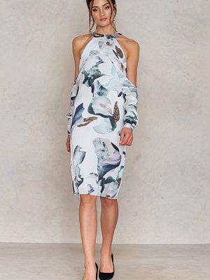 Neon Rose Elemental Print Dress