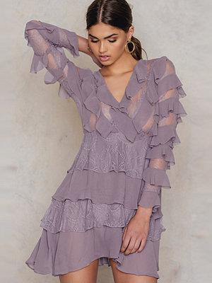 Glamorous Chiffon Tiered Dress