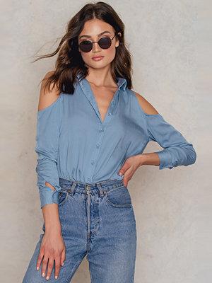 Skjortor - Glamorous Cold Shoulder Shirt