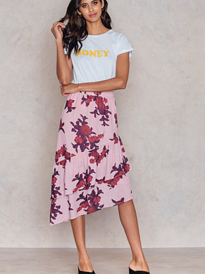 NA-KD Trend Bottom Frill Midi Skirt