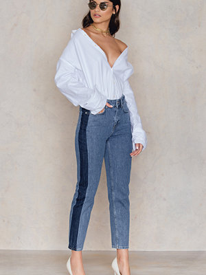 NA-KD Trend Side Panel Jeans