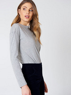 NA-KD Basic Long Sleeve Basic Top