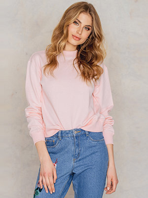 NA-KD Basic Basic Sweater rosa