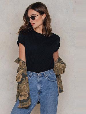 T-shirts - NA-KD Basic Basic Oversize T-Shirt svart