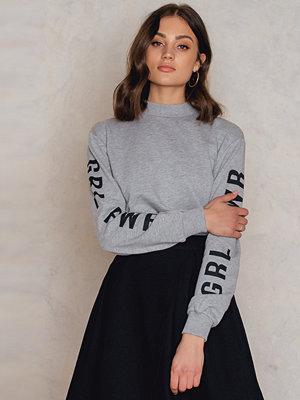 Josefin Ekstrom for NA-KD GRL PWR Sleeve Sweater