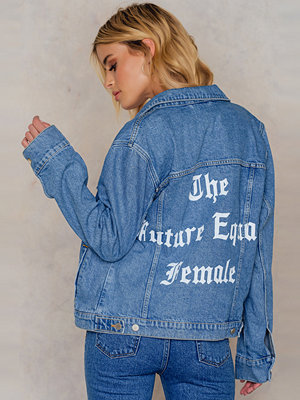 NA-KD The Future Equals Female Denim Jacket