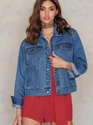 Jeansjackor - NA-KD Denim Jacket blå