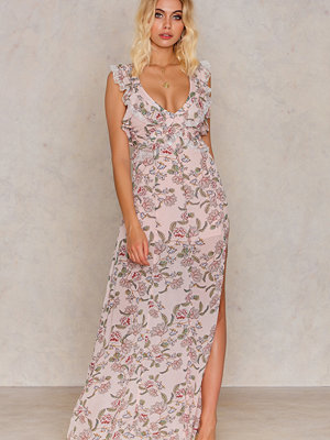 For Love & Lemons Bee Balm Floral Dress