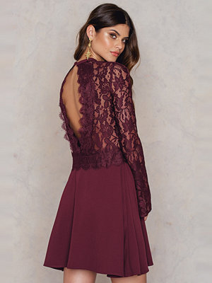 FARINA for NA-KD Romantic Lace Dress