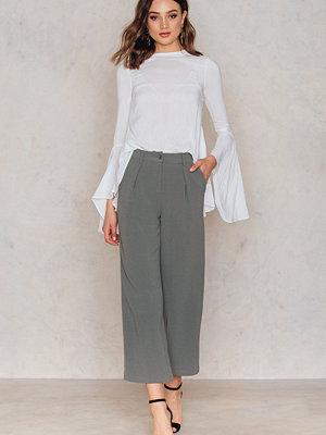 Rut & Circle Ofelia pant grå byxor