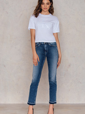 Jeans - Calvin Klein HR Straight Ankle Jeans