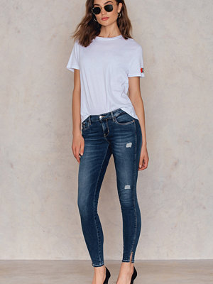 Jeans - Calvin Klein MR Skinny Twisted Ankle Jeans