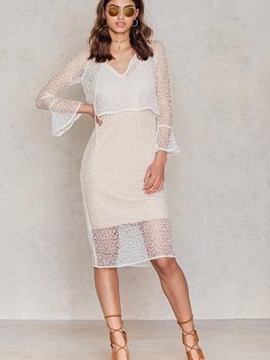 NA-KD Boho Layer Lace Dress
