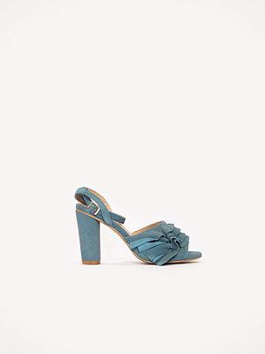 Pumps & klackskor - Lavish Alice Suede Frill Detail Sandals
