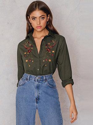 Skjortor - Rut & Circle Evelin Emb Shirt