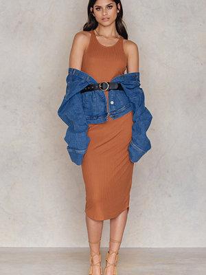 Rut & Circle Mollie dress brun