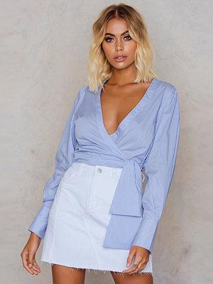 Kjolar - NA-KD Trend Patched Denim Skirt