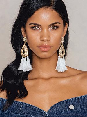NA-KD Accessories örhängen Diamond Drop Tassels Earring