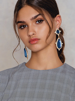 NA-KD Accessories örhängen Diamond Teardrop Earring