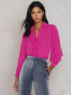 Trendyol Wide Sleeve Shirt rosa
