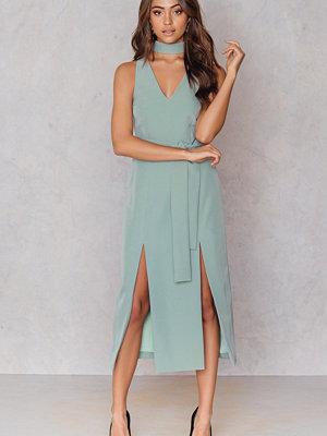 Lavish Alice Double Split Graphic Dress