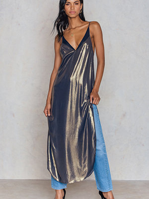 Free People Anytime Shine Slip Dress