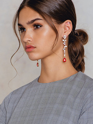 NA-KD Accessories örhängen Multicolor Rhinestone Pin Earring