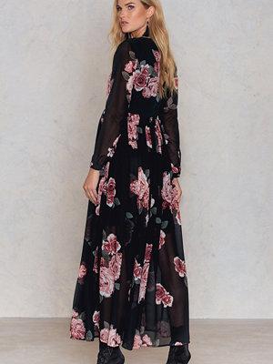NA-KD Boho Printed Maxi Dress