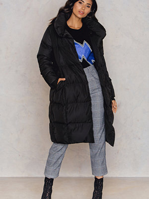NA-KD Trend Shawl Collar Padded Jacket